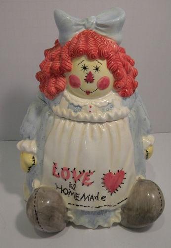 Raggedy Ann cookie jar