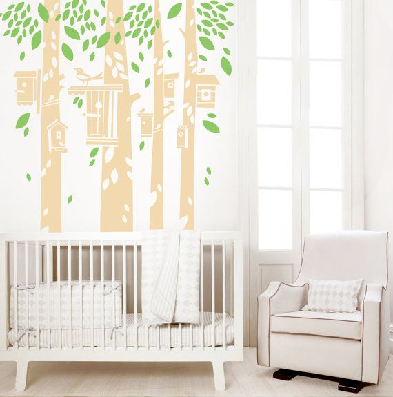 Nursery Wall Decal, Tree House Decal, Kids Wall Decal, Large Wall Decal   Part 55