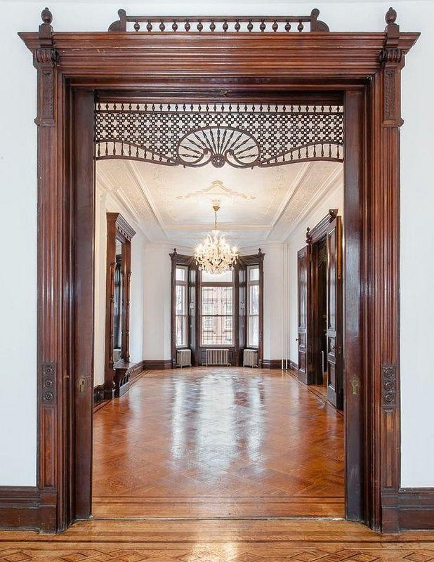 Brooklyn New York brownstone woodwork | Flickr - Photo Sharing!
