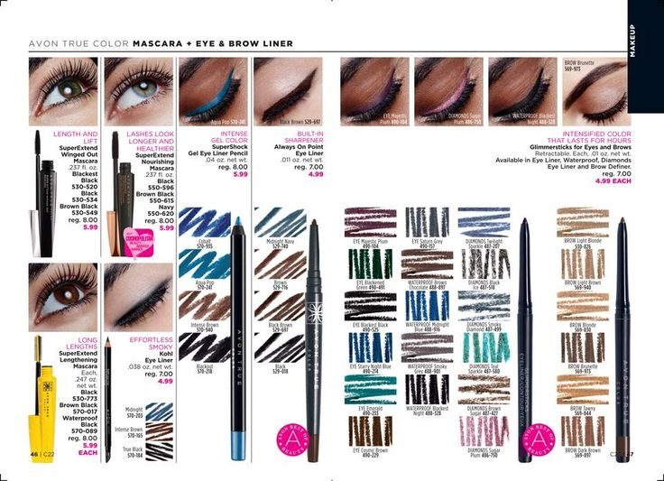 1. Avon True Color Super Extend Winged Out Mascara 2.Super Extend Nourishing Mascara 3. Super Shock Gel Eye Liner Pencil 4. Always On Point Eye Liner 5. Glimmersticks Diamonds Eye Liner 6. Glimmersticks Brow Definer #avon #eyeliner #eyes #thoseeyes #mascara #eyebrows #beauty #cosmetics #beautiful #projectrunway #makeup #instagram @avonrep_angel