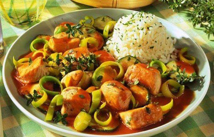 Putengulasch mit Reis - Die 10 besten Gulasch-Rezepte
