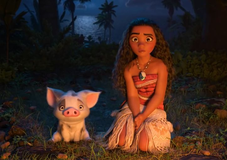 Je ne résiste pas au plaisir de partager avec vous la bande annonce du prochain Disney : Vaiana, la légende du bout du monde, réalisé par Ron Clements et John Musker.