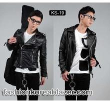 Korean Style Biker Jacket IDR : Rp 270.000 Kode Produk : KS-19