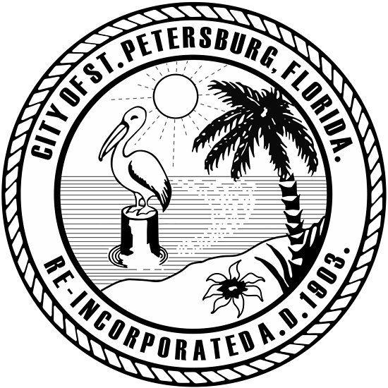 Seal Of St Petersburg Florida Stpete Stpetefl Saintpete Tampabay Stpetersburgfla In 2019 Florida St Petersburg Florida Petersburg Florida