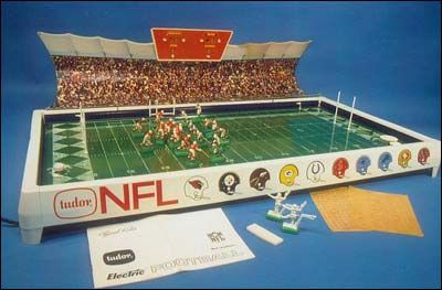 electronic football game (which produced the same sound as someone being electrocuted)