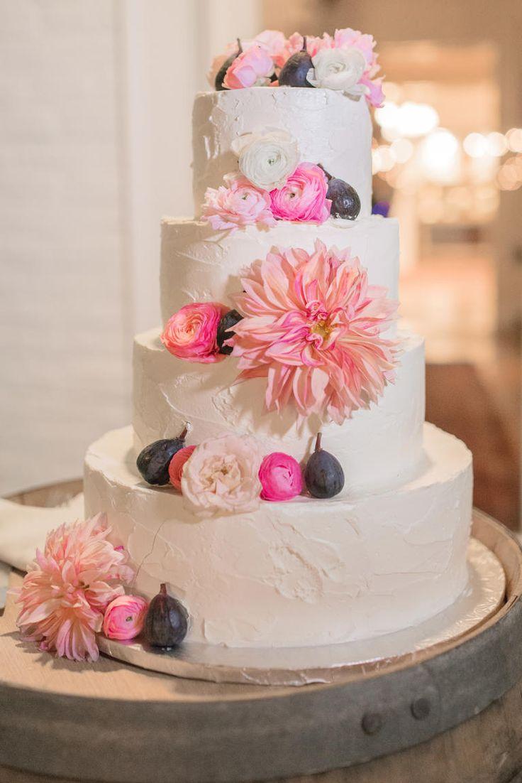 Fig Cake Decor | 8 Ways to Add Fruit to Your Wedding Decor | https://www.theknot.com/content/fruit-wedding-decor