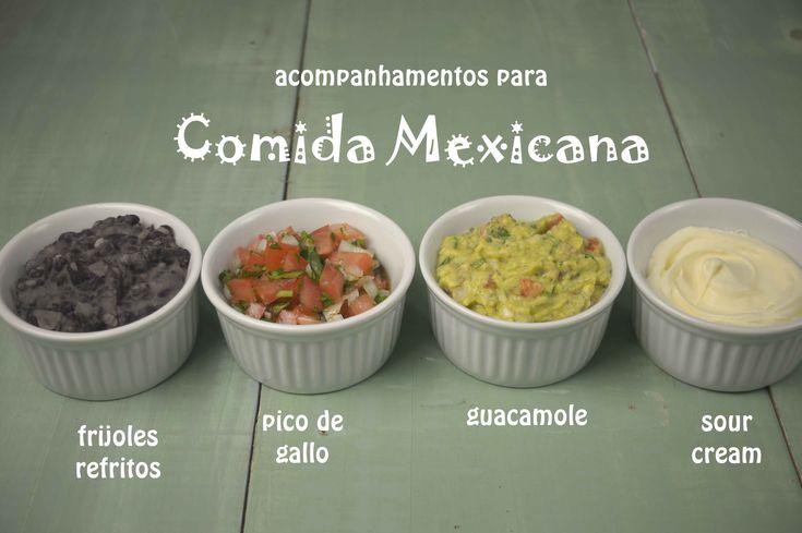 Acompanhamentos para Comida Mexicana
