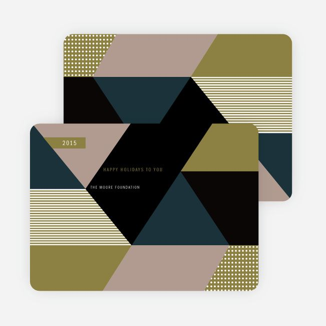 Corporate Holiday Cards for the Bold and Modern from Paper Culture