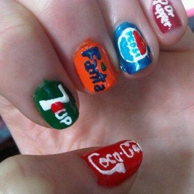 115 best coca cola nails images on pinterest beauty nails 7upfantapepsidr peppercoca cola nails prinsesfo Gallery
