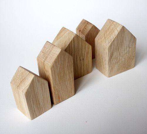 domečky ze dřeva