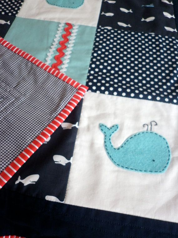 35 best images about whale nursery on pinterest for Floor quilt for babies