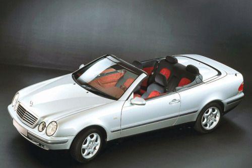 german-cars-after-1945:  1998 Mercedes CLK 430...