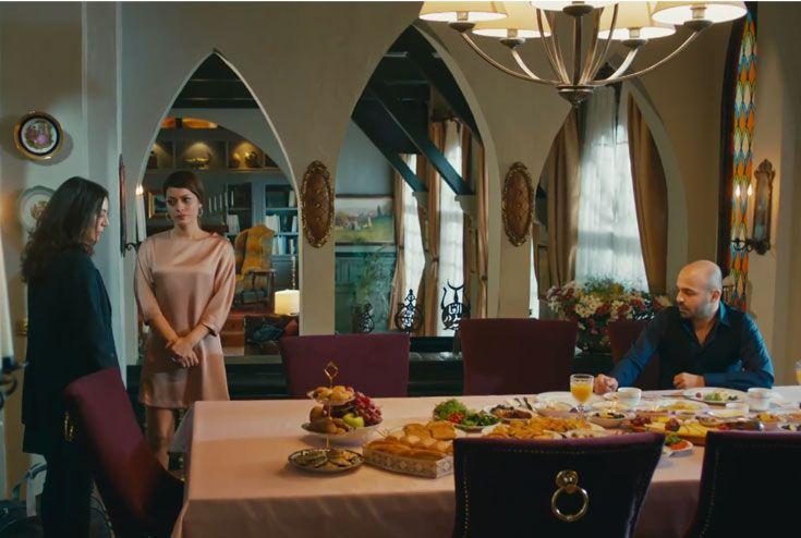 Cesur-ve-Güzel-Çiftlik-Evi-Dekorasyonu Yemek masası yemek odası