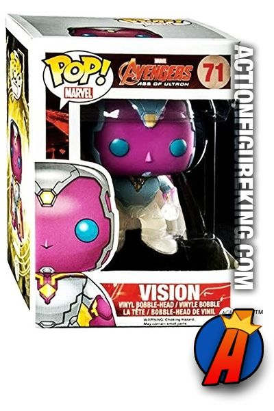 #Funko Pop! #Marvel #Target Exclusive Faded #VISION Variant Figure. Quickly and easily search thousands of new and vintage #Collectibles #Toys #ActionFigures and more here… http://actionfigureking.com/list-3/funko-toys-collectibles-and-figures/funko-pop-marvel/funko-pop-marvel-avengers-2-faded-vision-figure-71-target-exclusive