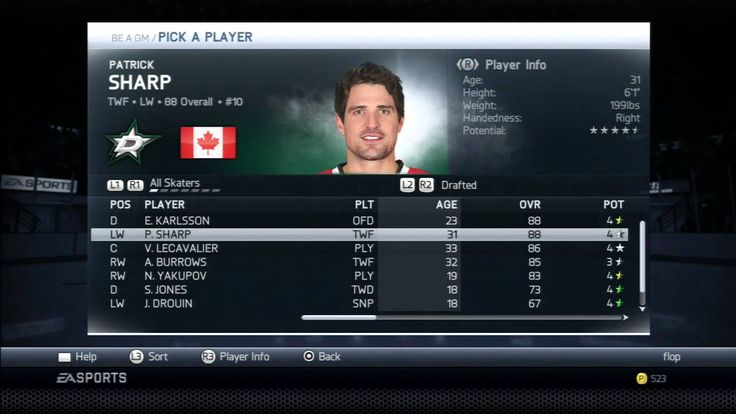 NHL UI