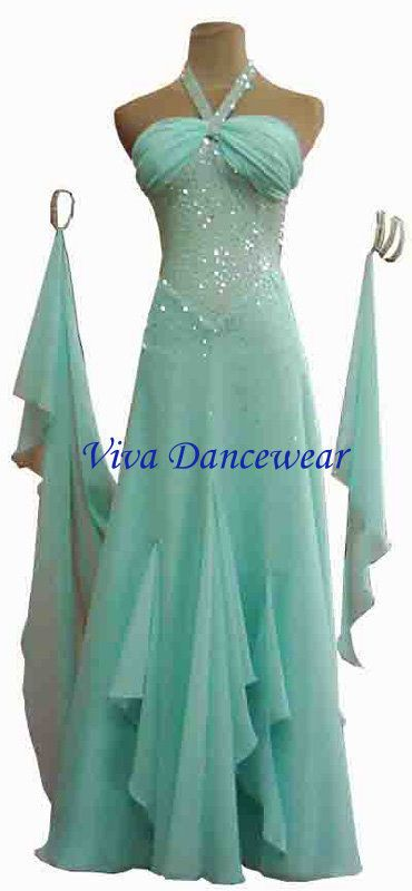 Ballroom latin competition dance dress style #011 bd011 #VivaDancewear
