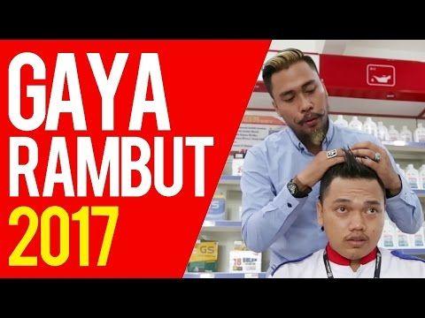 Tips Gaya Rambut 2017 Pakai Pomade Mexico - YouTube