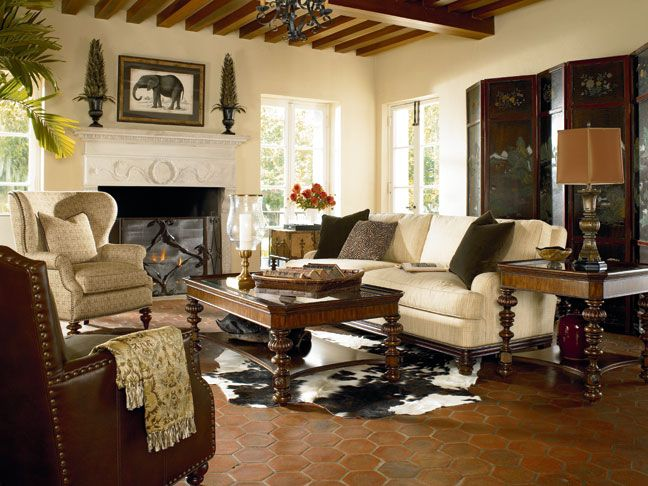 64 Best Images About Colonial Living Room Designs On Pinterest