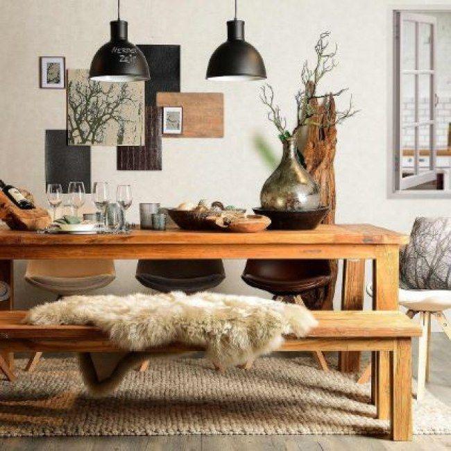 die 25 besten ideen zu skandinavischer stil auf pinterest skandinavischer wohnstil tischbank. Black Bedroom Furniture Sets. Home Design Ideas