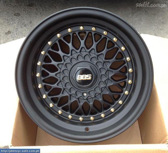 My dream wheels. BBS RS <3