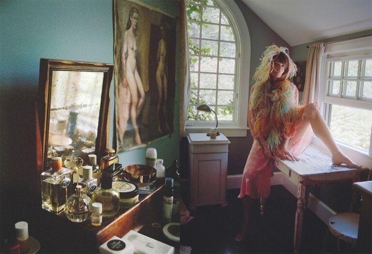 Helena Christensen's Catskills home in Porter magazine