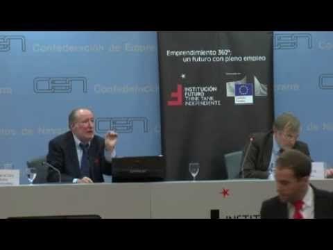 Conferencia del economista José María Gay de Liébana