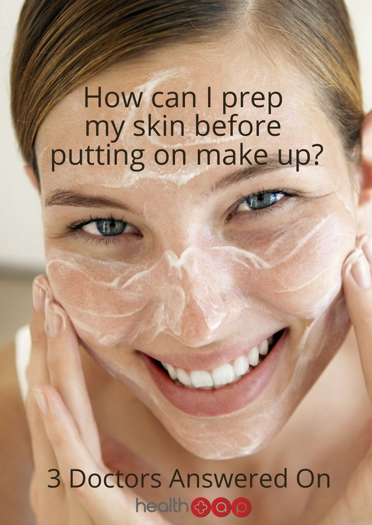 It's important to prep your skin before putting on make up!  Click to find out what our doctors suggest!