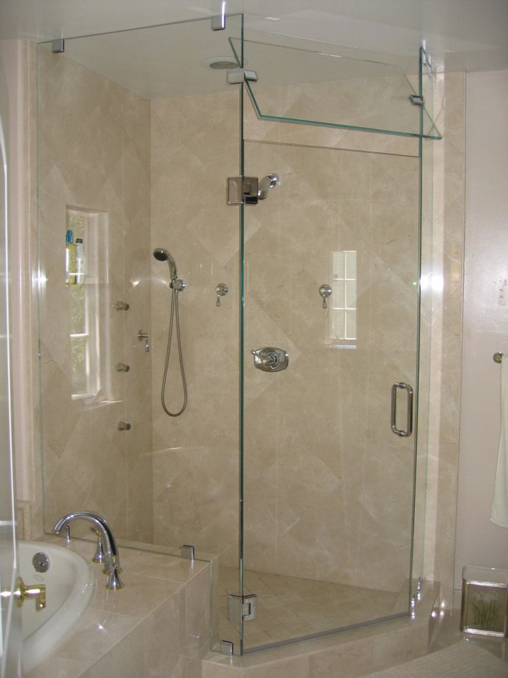 Best Bathroom Design Ideas Images On Pinterest Glass Showers - Bathroom enclosures home depot for bathroom decor ideas