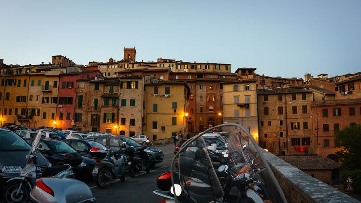 Siena - Shooting in golden hour