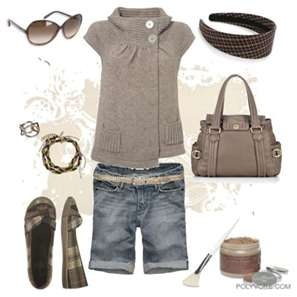 ..Summer Fashion, Casual Friday, Summer Outfit, Fashion Style, Clothing, Shorts Style, Casual Looks, Jeans Shorts, Style Fashion
