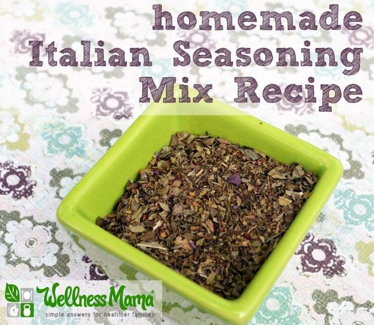Homemade Italian Seasoning Mix Recipe with Dried Herbs