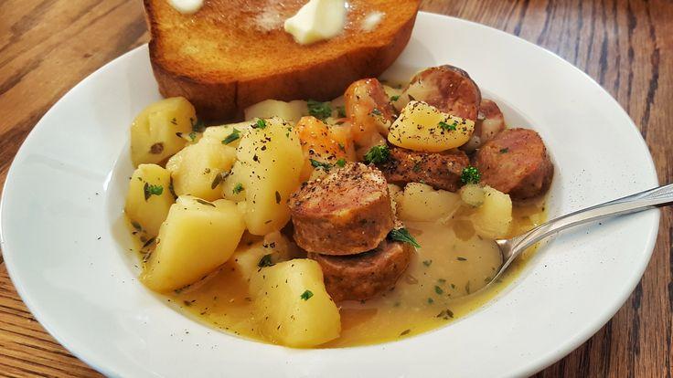potato and kielbasa soup