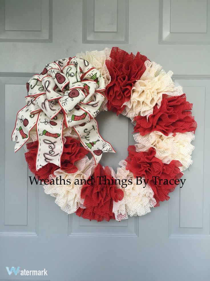 Grip liner Candy Cane Wreath by Wreaths