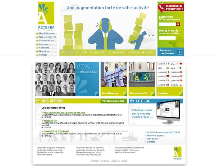Acterim agence d 39 int rim sp cialis e dans les m tiers for Agence interim paysagiste nantes