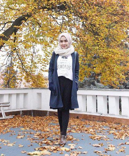 Foto: Penampilan Stylish Hijabers Cantik Asal Bogor, Hamidah