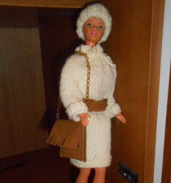 Abito per Barbie abito lavorato a maglia di lepropostedimari
