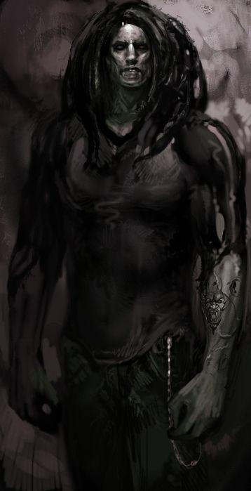 Sabbat male - concept art | Vampire the Masquerade: Bloodlines