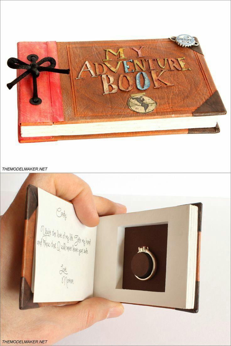 Pixar's Up Wedding Proposal
