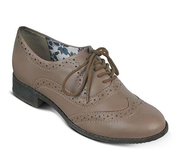 Sapato oxford em tom rose | Sapatos | Bottero Calçados