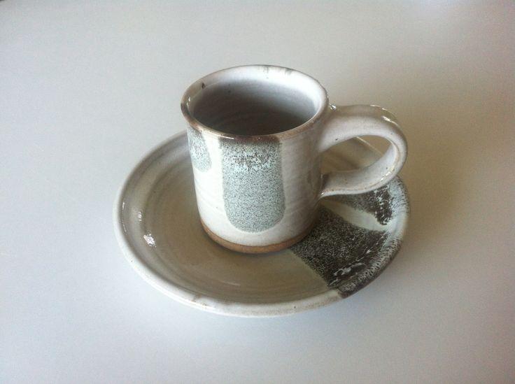 Coffe cup and plate - Scintilla Demi