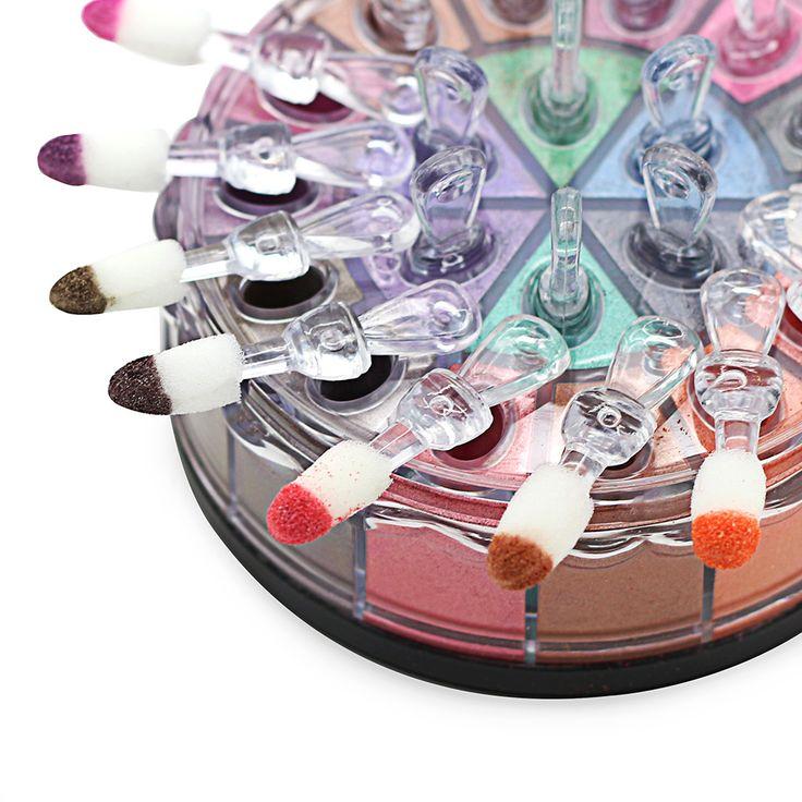 20 цветов блеск порохом голый макияж сексуальная дымно-макияж глаза мерцающие персиковый черный шампанское пигмент минеральные тени для век палитра