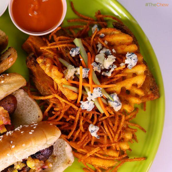Spicy Fireball Buffalo Fries by Guy Fieri! #TheChew #Spicy