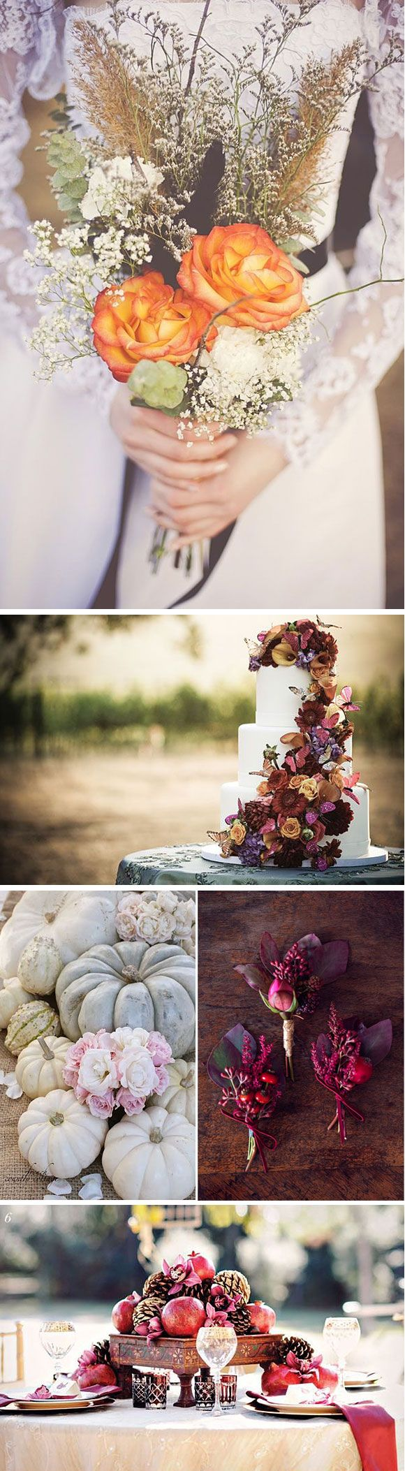 Bodas en otoño- ideas para decorar bodas en otoño