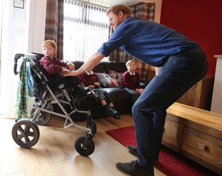 Prince Harry Makes House Call to Sick Boy | PEOPLE.com