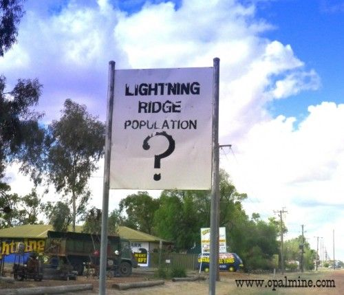opal-fields-humor- not even the Lightning Ridge Council know how many people live here