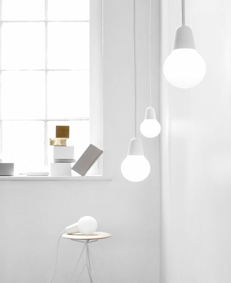 Bulb-Fiction by design collective Kibisi. Clean and simple.