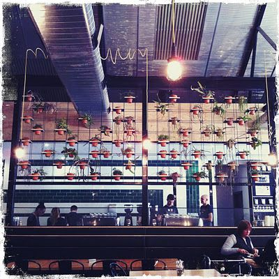 Axil - One of my favourite brunch spots and winner for The Age Good Food Cafe Guide Best Coffee 2013!