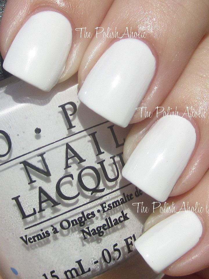OPI Alpine Snow. Want this in the matte