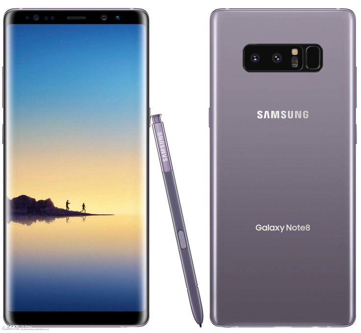 Samsung Galaxy Note 8 in Orchid Gray  Mine is coming in this week!!!