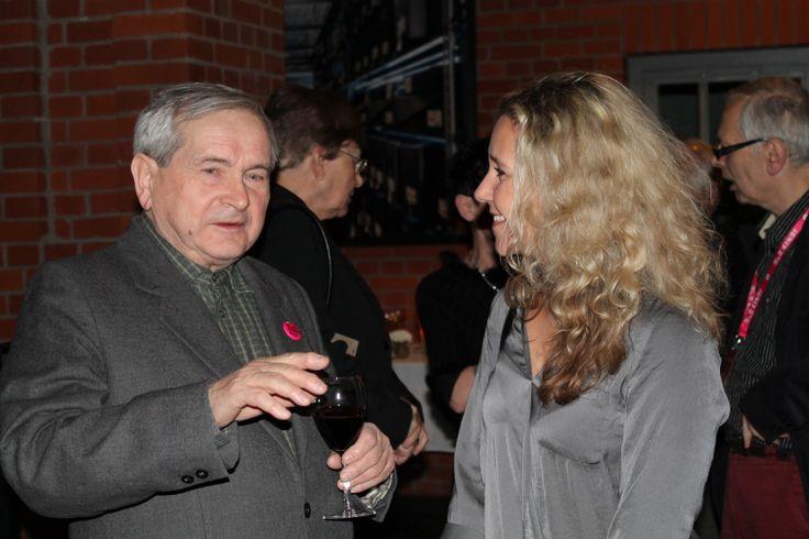 With Tadeusz Wilkosz